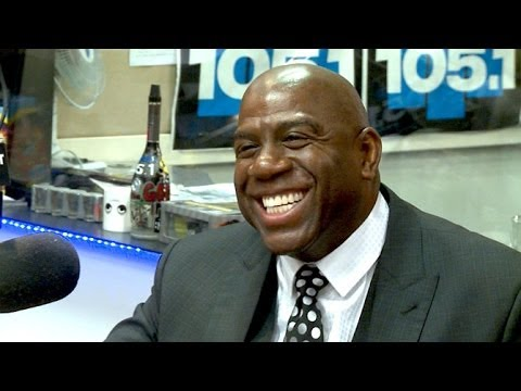 #HIV @MagicJohnson Interview on HIV / Aids, medication, basketball etc.