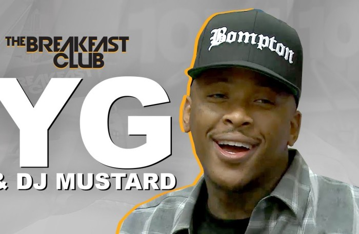 #IJustWannaParty @YG @DJmustard Interview at The Breakfast Club Power 105.1