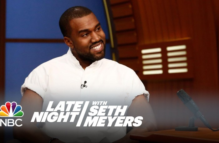 "#KanyeFashion&More @kanyewest on Making ""Sonic Paintings"" – Late Night with @sethmeyers"