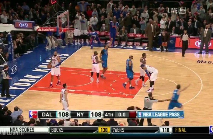 #NBA @swish41 Hits THE GAME WINNING BUZZER BEATER In @carmeloanthony FACE!!