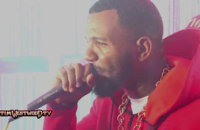 #TimWestwoodTV @TheGame spits a crazy Freestyle and introduces the #LAkings #SkiMaskWay
