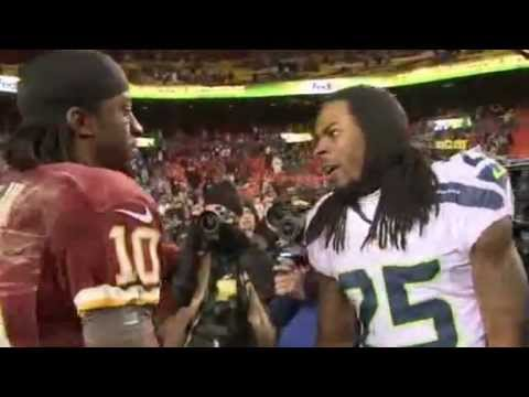 Wonder if @RSherman_25 remembers getting punched in the face? He is #Fake and #Soft