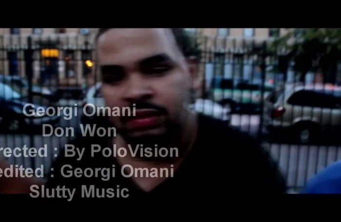 #WTW 2 #Brooklyn #NewVideo – DON WON – @georgiomani