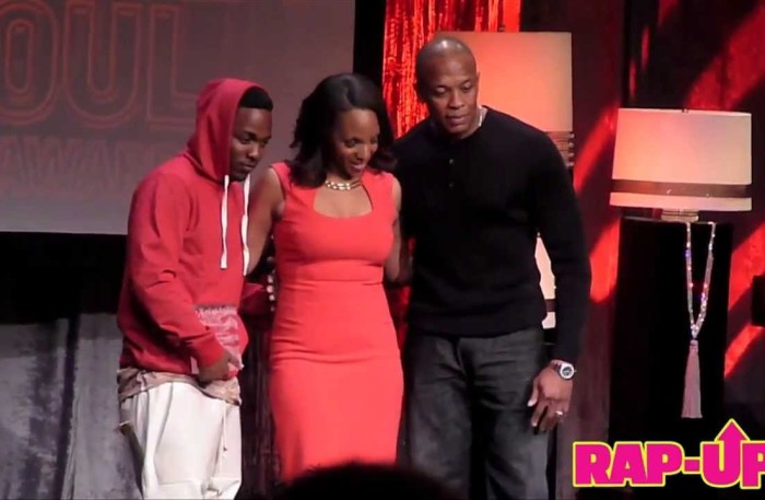 #WTW #NewVideo – @DrDRE presents @KendrickLamar w the Vanguard Award at 2013 ASCAP AWARDS