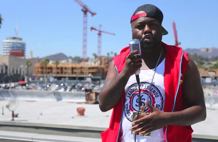 #WTW #VIDEO @MistahFAB Murders another #Freestyle w/ #HipHopDX on a #HOLLYWOOD RoofTop