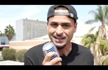 #NewVideo @DaLocksmith drops the #Hollywood Freestyle at @HipHopDX Headquarters!