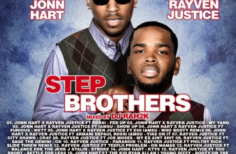 Jonn Hart & Rayven Justice - Step Brothers (mixed by DJ Rah2k)