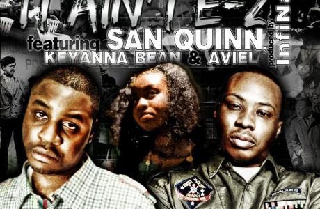 DLabrie IT AINT EZ ft San Quinn Front Cover
