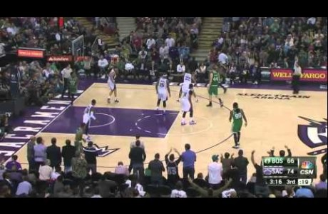 Sacramento Kings @BoogieCousins Coast to Coast Poster on Jae Crowder!!!