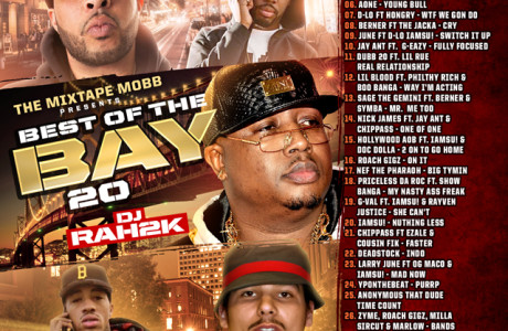 The Mixtape Mobb presents DJ Rah2k - Best of the Bay 20