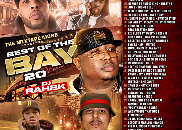 The Mixtape Mobb presents DJ Rah2k - Best of the Bay 20