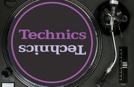 HustleTV DJ Hustle Technics-SL1210MK2