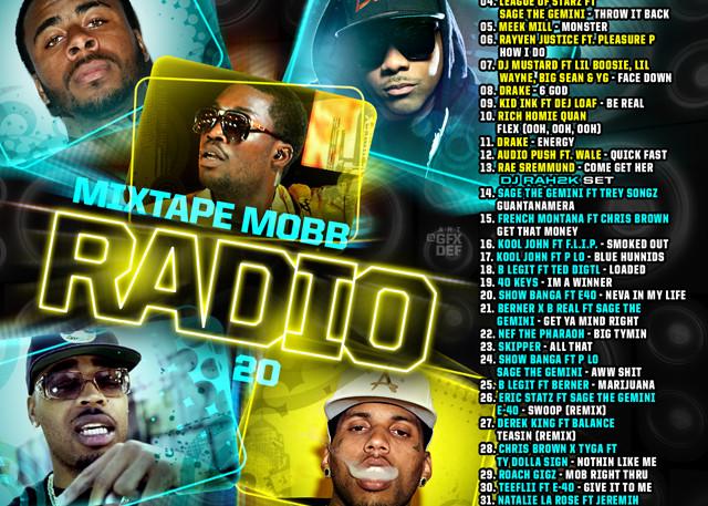 The Mixtape Mobb presents DJ Rah2k x DJ Neato - Mixtape Mobb Radio 20 [preview, for online use, JPEG]