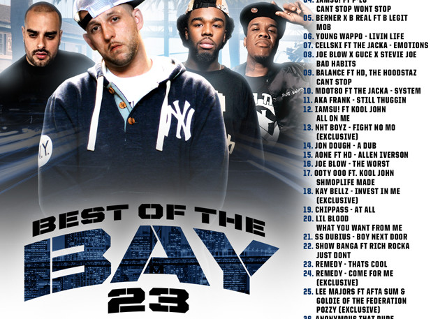 The Mixtape Mobb presents DJ Rah2k - Best of the Bay 23 [preview, for online use, JPEG]