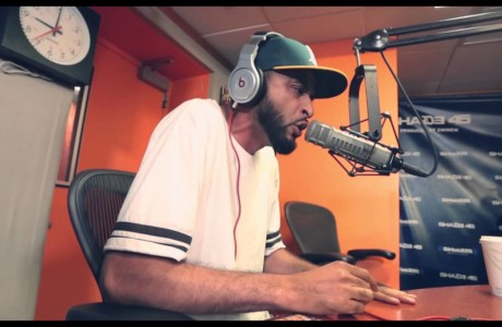 #NewVideo @Dalocksmith #Freestyles for @RealDJKaySlay while promoting for #LoftyGoals