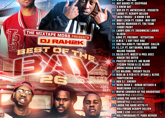 The Mixtape Mobb presents DJ Rah2k - Best of the Bay 26 [preview, for online use, JPEG]