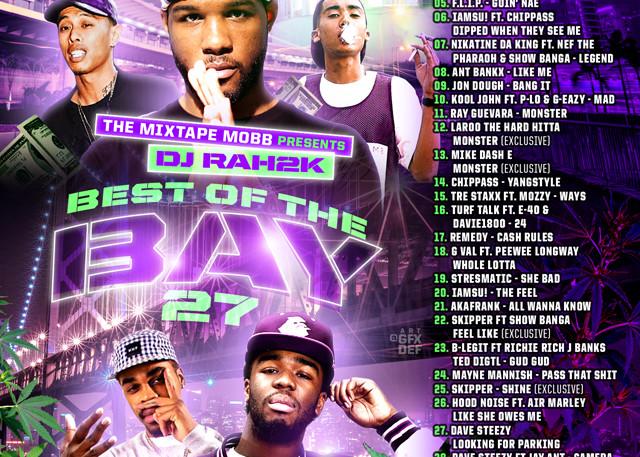 The Mixtape Mobb presents DJ Rah2k - Best of the Bay 27