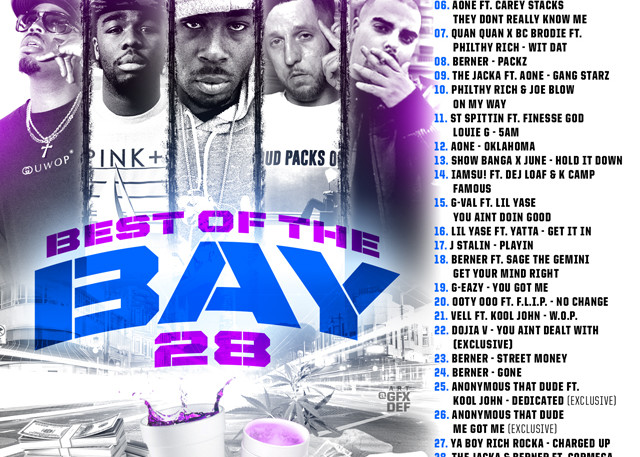 The Mixtape Mobb presents DJ Rah2k - Best of the Bay 28 [preview, for online use, JPEG]