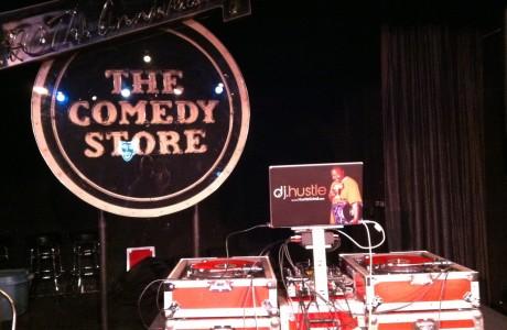 HustleTV DJ Hustle The Comedy Store