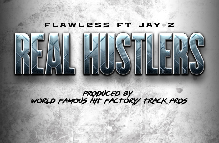 """Real Hustlers"" by Flawless featuring Jay Z is out Now! The San Diego emcee finally releases his track with New York legend Jay Z!"
