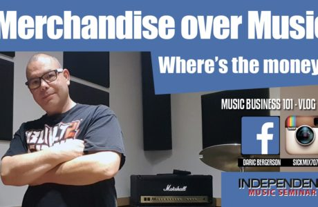 Merchandise over Music? DJ Daric B, Independent Music Seminar vlog #4