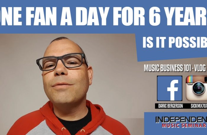 One Fan A Day for 6 Years – DJ Daric B – Independent Music Seminar