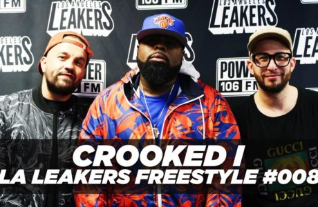 Crooked I @CrookedIntriago Freestyle With The @LALeakers | #Freestyle008