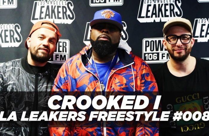 Crooked I @CrookedIntriago Freestyle With The @LALeakers | #Freestyle008
