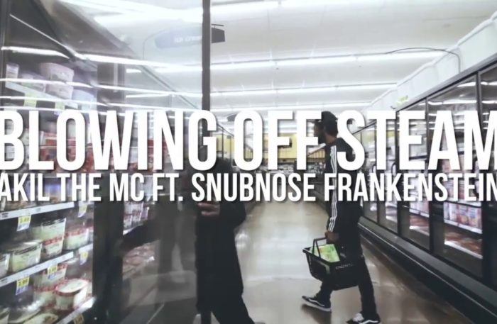 NEW VIDEO: @AkilTheMc Blowing off Steam feat Snubnose frankenstein