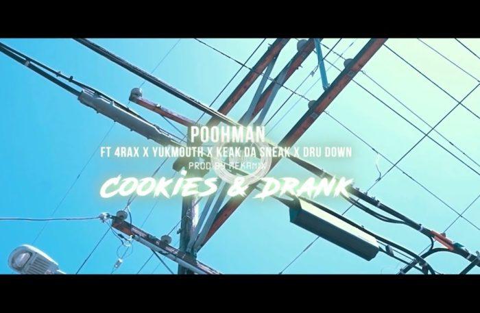 "NEW VIDEO: ""Cookies & Drank"" @RealPoohman @ThaRealYukmouth @KeakDaSneak @DruDown500 @4rAx –"